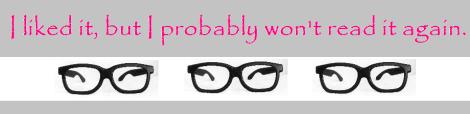 I liked it but...three nerd glasses